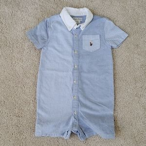 Ralph Lauren baby boy shortall